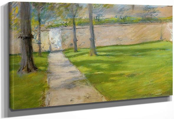 A Bit Of Sunlight By William Merritt Chase