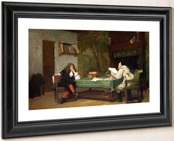 A Collaboration Corneille And Moliere By Jean Leon Gerome