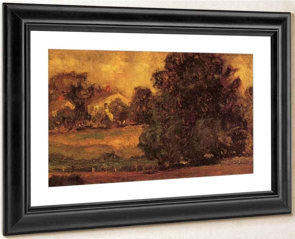 A Connecticut Landscape By Ernest Lawson