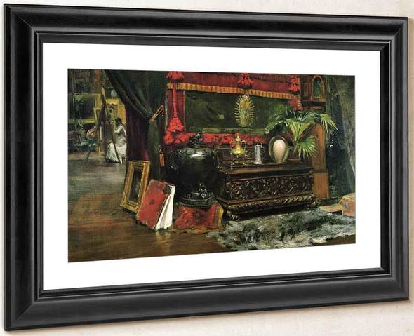A Corner Of My Studio By William Merritt Chase