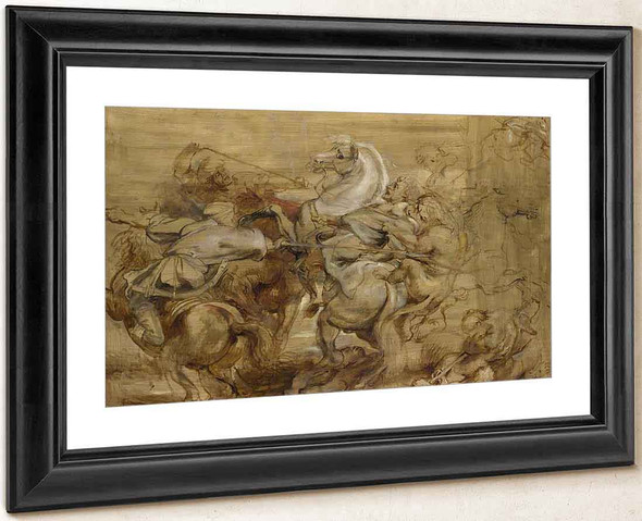 A Lion Hunt By Peter Paul Rubens