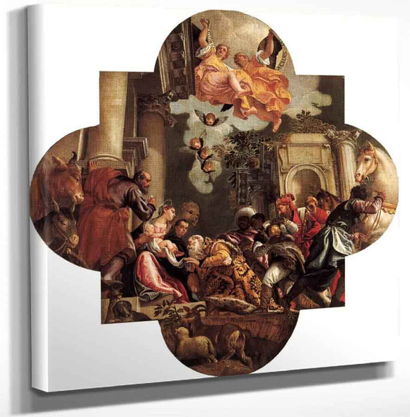 The Adoration Of The Kings1 By Paolo Veronese Art Reproduction