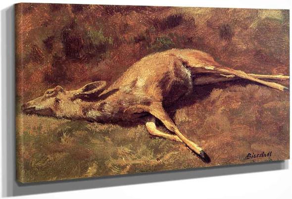 A Native Of The Woods By Albert Bierstadt