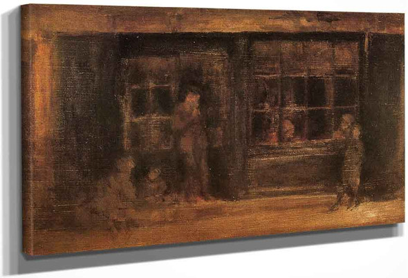 A Shop By James Abbott Mcneill Whistler American 1834 1903