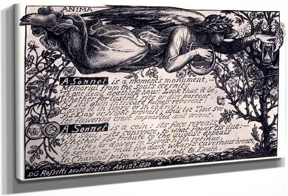 A Sonnet By Dante Gabriel Rossetti