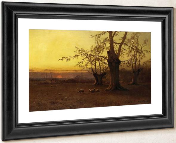 A Spring Evening, Burnham Beeches By Alfred De Breanski, Sr.