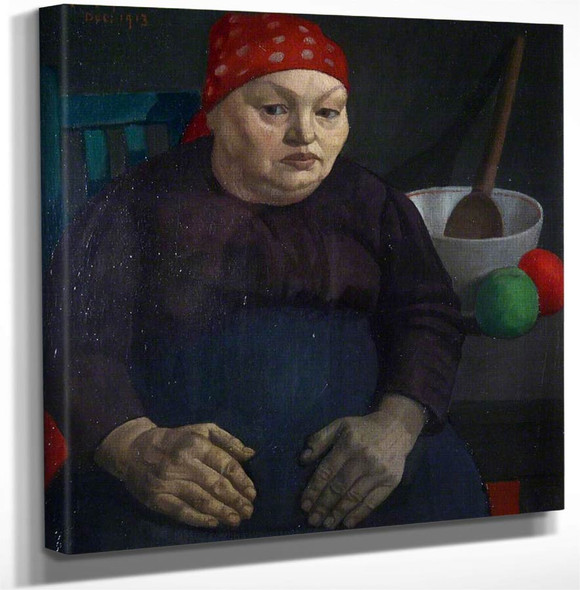 The Artists Mother By Mark Gertler Art Reproduction
