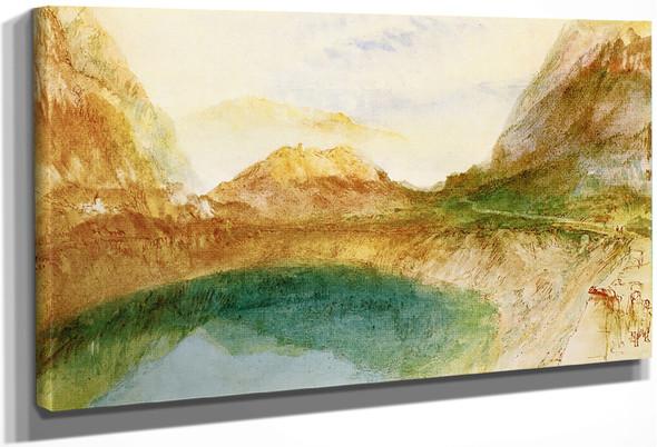A Swiss Lake Scene, Possibly Brienz By Joseph Mallord William Turner
