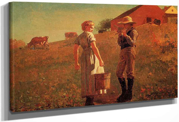 A Temperance Meeting By Winslow Homer