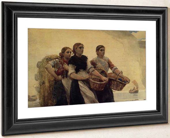 A Voice From The Cliffs By Winslow Homer