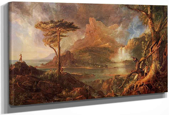 A Wild Scene By Thomas Cole By Thomas Cole