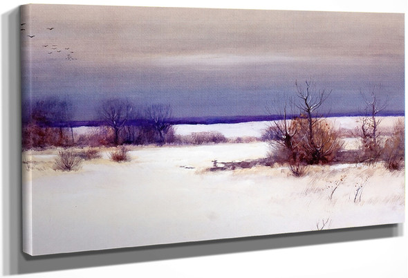 A Winter's Day By Bruce Crane