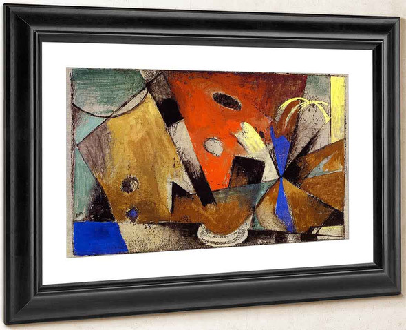 Abstract Composition1 By Franz Marc By Franz Marc