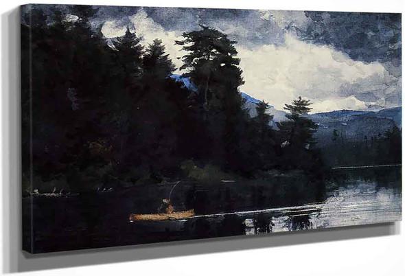Adirondack Lake1 By Winslow Homer