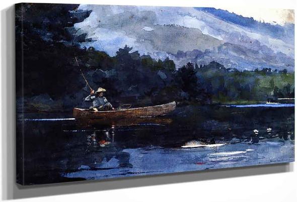 Adirondack Lake By Winslow Homer