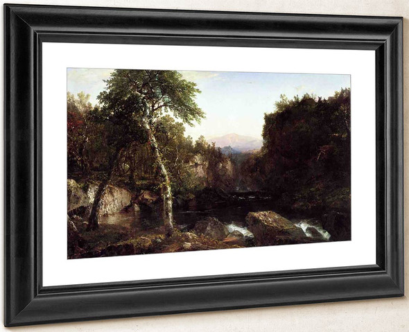 Adirondack Scenery By John Frederick Kensett By John Frederick Kensett