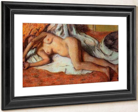 After The Bath2 By Edgar Degas