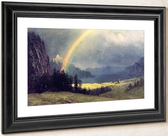 After The Shower By Albert Bierstadt