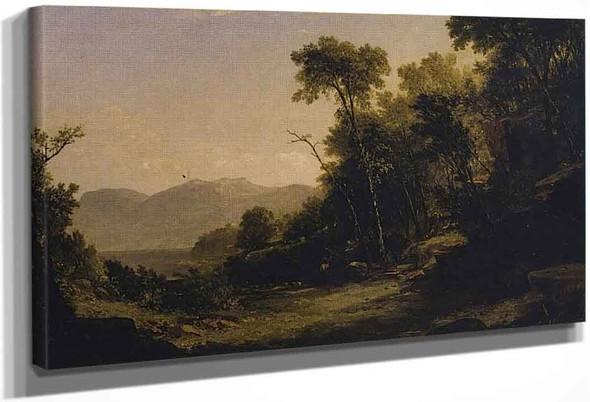 Afternoon In The Adirondacks By John Frederick Kensett By John Frederick Kensett