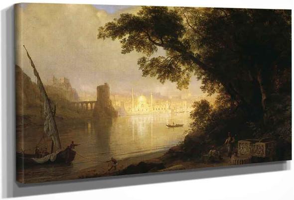 Al Ayn By Frederic Edwin Church By Frederic Edwin Church