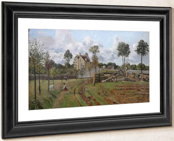 Allee Du Tour Du Jongleur By Camille Pissarro