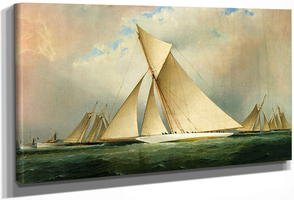 Americas Cup Yacht Vigilant, 1893 By James E. Buttersworth