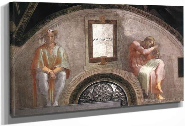 Amminadab By Michelangelo Buonarroti By Michelangelo Buonarroti