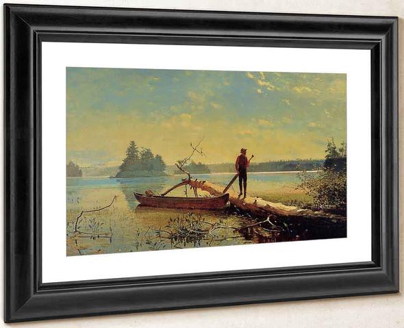 An Adirondack Lake By Winslow Homer