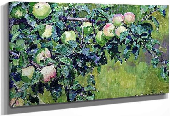 An Apple Branch By Apollinari Vasnetsov