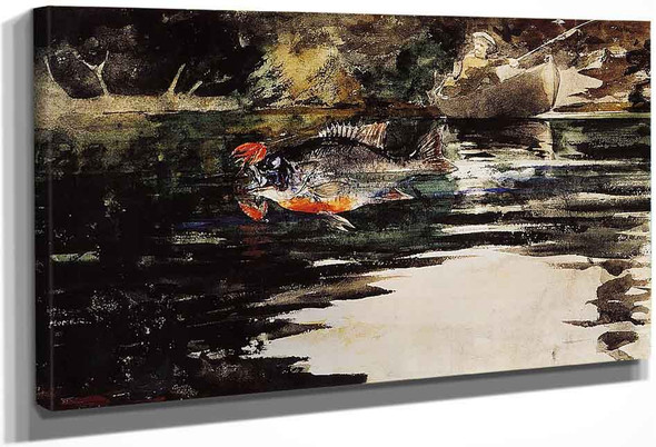 An Unexpected Catch By Winslow Homer