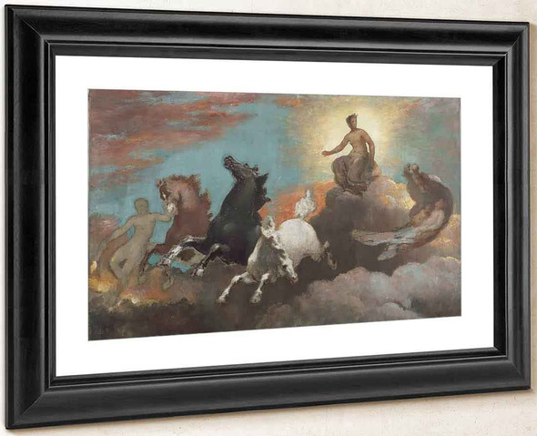 Anahita. The Flight Of Night By William Morris Hunt