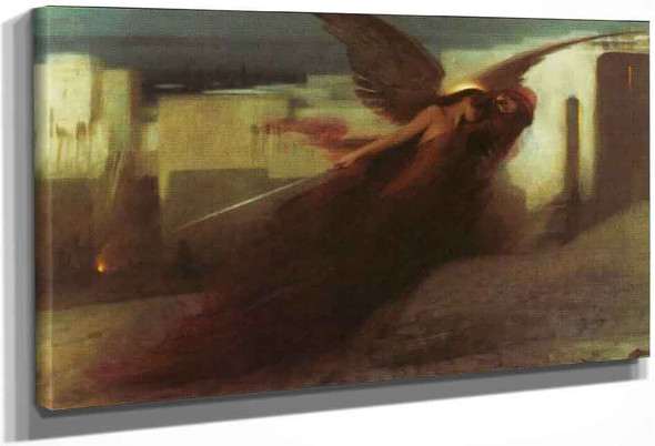And There Was A Great Cry In Egypt By Arthur Hacker By Arthur Hacker