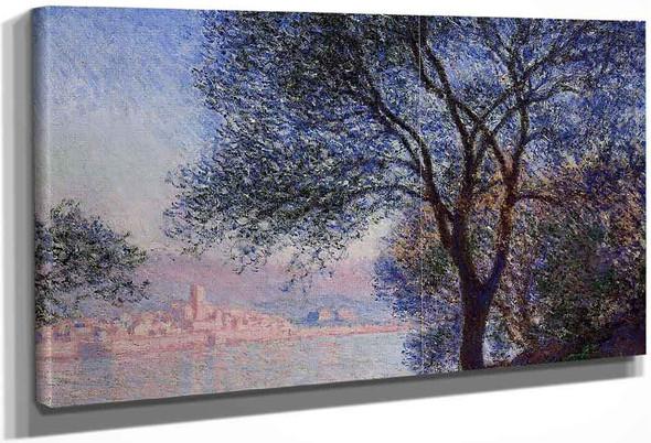 Antibes Seen From The Salis Gardens1 By Claude Oscar Monet