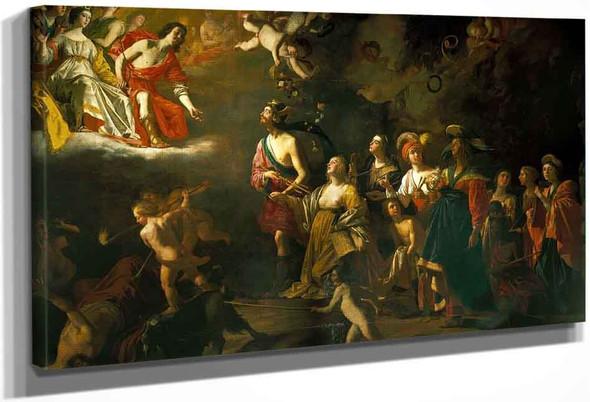 Apollo And Diana By Gerard Van Honthorst By Gerard Van Honthorst