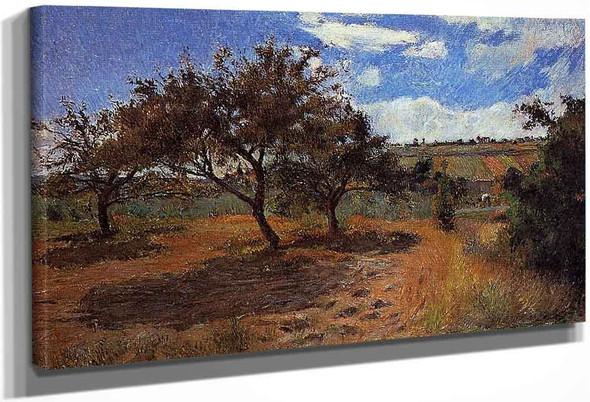 Apple Trees At L'hermitage Ii By Paul Gauguin