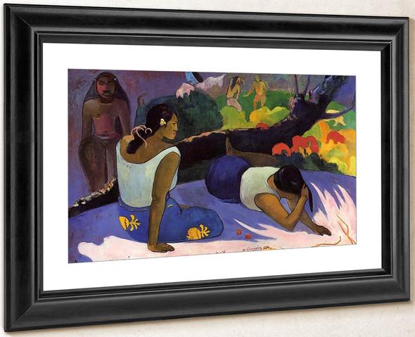 Arearea No Varua Ino By Paul Gauguin