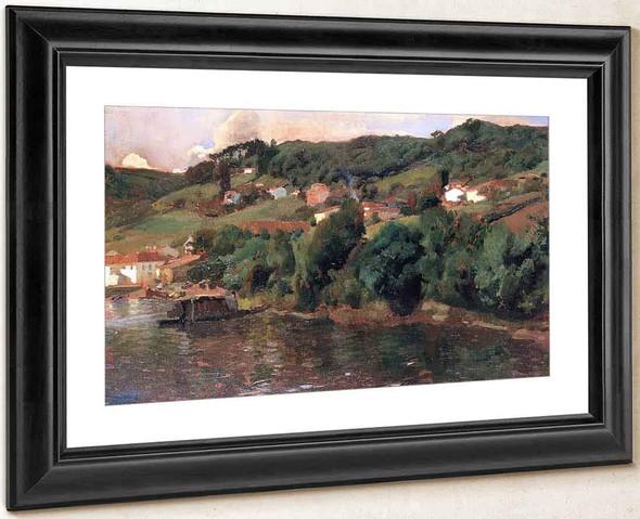 Asturian Landscape By Joaquin Sorolla Y Bastida
