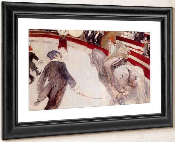At The Cirque Fernando The Ringmaster By Henri De Toulouse Lautrec