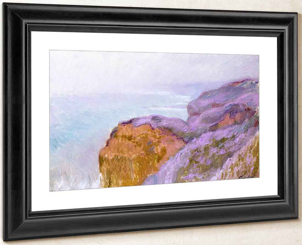 At Val Saint Nicolas, Near Dieppe By Claude Oscar Monet