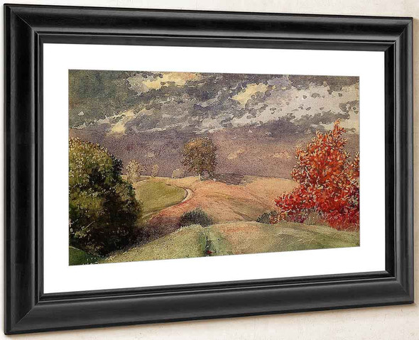 Autumn, Mountainville, New York By Winslow Homer