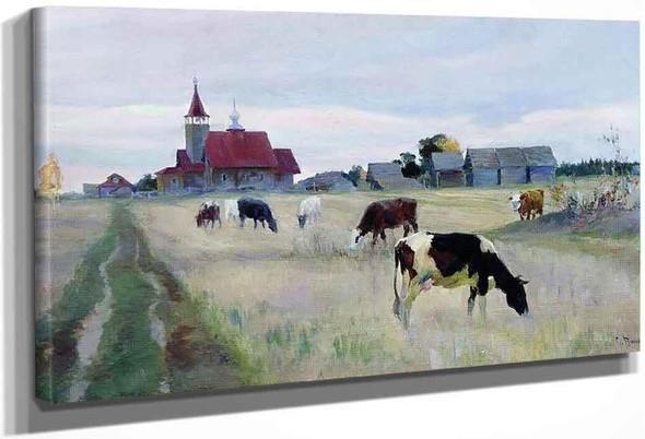 Autumn 1 By Sergei Arsenevich Vinogradov Russian 1869 1938