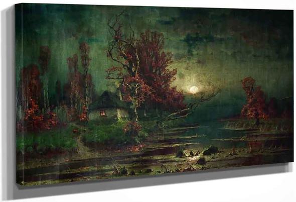Autumn Evening By Julius Klever