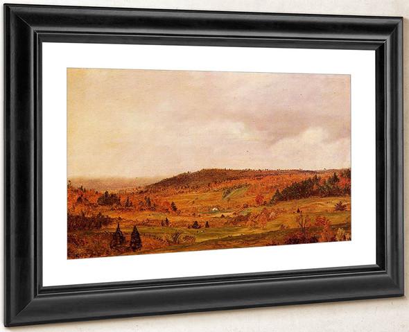 Autumn Shower By Frederic Edwin Church By Frederic Edwin Church