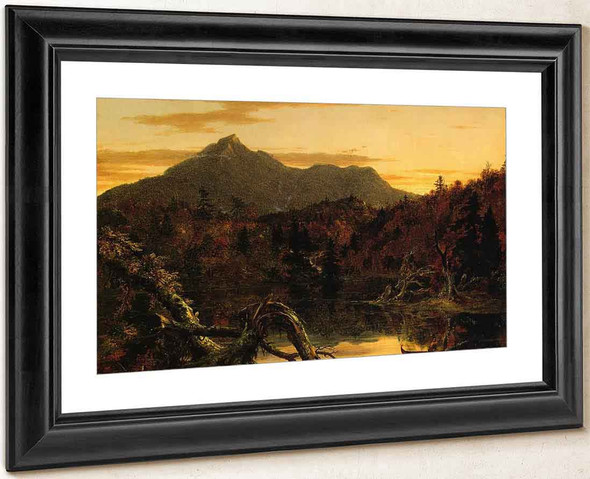 Autumn Twilight View Of Copway Peak By Thomas Cole By Thomas Cole