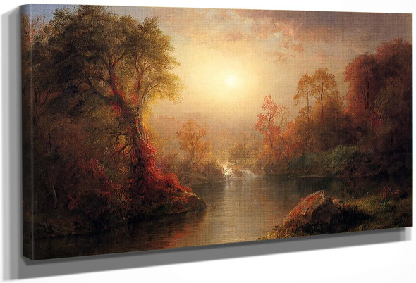 Autumn By Frederic Edwin Church By Frederic Edwin Church