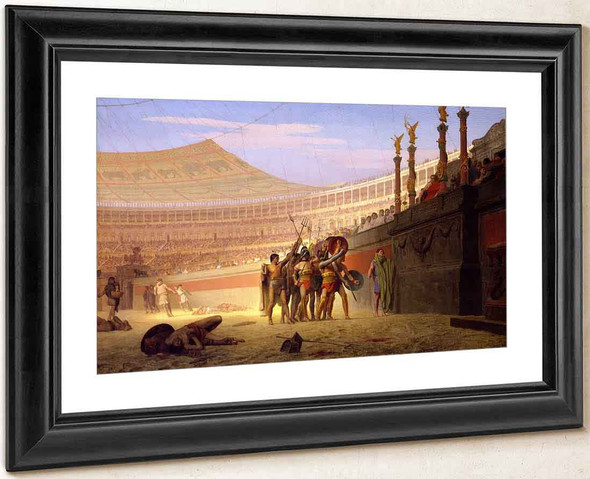 Ave Caesar, Morituri Te Salutant By Jean Leon Gerome