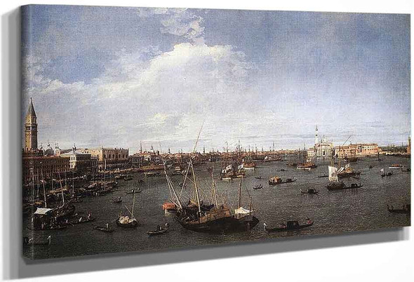 Bacino Di San Marco By Canaletto By Canaletto