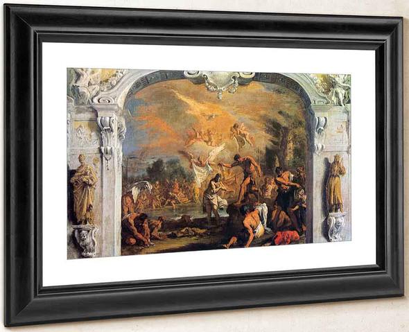Baptism Of Christ By Sebastiano Ricci