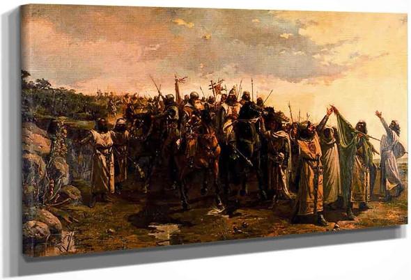 Batalla De La Navas De Tolosa By Jose Mongrell Torrent