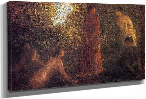 Bathers By Henri Fantin Latour(French, 1836 1904) By Henri Fantin Latour(French, 1836 1904)